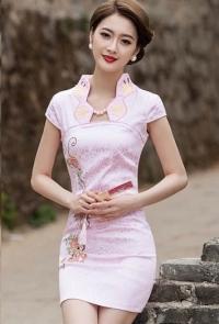 details-Classic Oriental New Mini Cheongsam (CNQP 3 08)