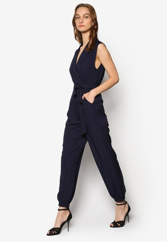 ladies-wrap-belted-jumpsuit