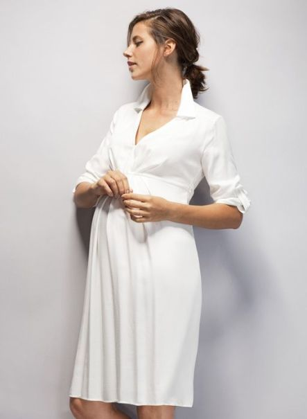 bdf2835edb0827c7de76947eb8581545--maternity-shirt-dress-maternity-outfits